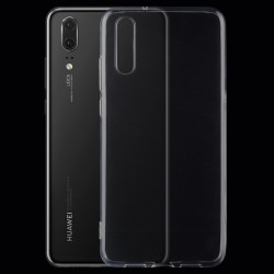 Huawei P20 - hoes, cover, case - TPU - Transparant