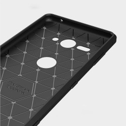 Sony Xperia XZ2 compact - hoes, cover, case - TPU - Zwart