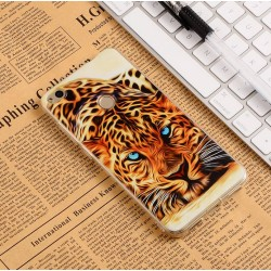 Huawei P10 - hoes, cover, case - TPU - Tijger