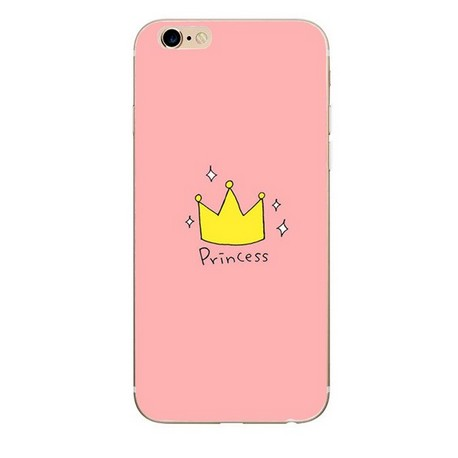 iPhone 8 / 7 (4.7 Inch) - hoes, cover, case - TPU - Princess