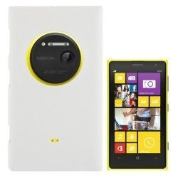 Nokia Lumia 1020 hard case, hoesje, cover, frontje wit