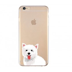 iPhone 8 Plus / 7 Plus (5.5 Inch) - hoes, cover, case - TPU - Maltezer hond