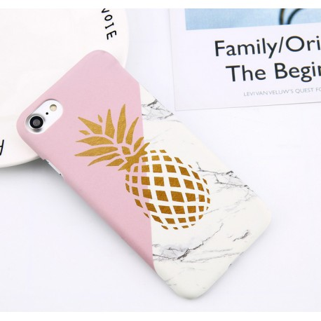 iPhone X - hoes, cover, case - PC - Ananas