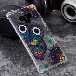 Samsung Galaxy Note 9 - hoes, cover, case - TPU - Transparant - Uil