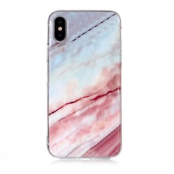 iPhone XR (6,1 inch) - hoes, cover, case - TPU - Marmer