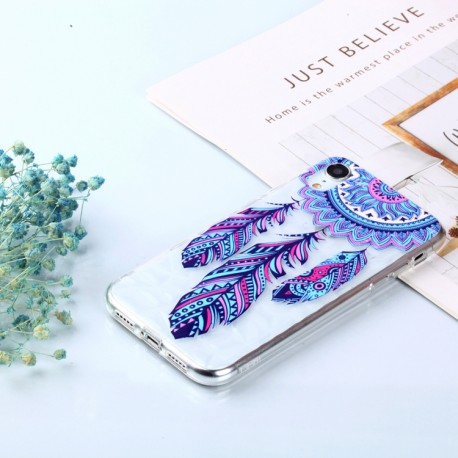 iPhone XR (6,1 inch) - hoes, cover, case - TPU - Dromenvanger - Blauw