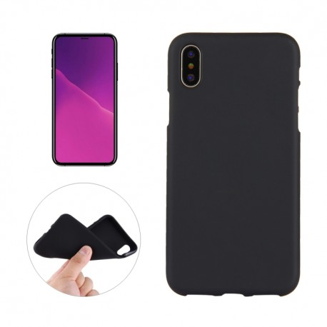 iPhone XS Max (6,5 inch) - hoes, cover, case - TPU - Zwart