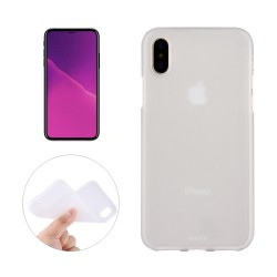 iPhone XS Max (6,5 inch) - hoes, cover, case - TPU - Transparant