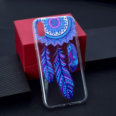 iPhone XS Max (6,5 inch) - hoes, cover, case - TPU - Transparant - Dromenvanger