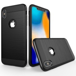 iPhone XS Max (6,5 inch) - hoes, cover, case - TPU - Extra bescherming - Zwart