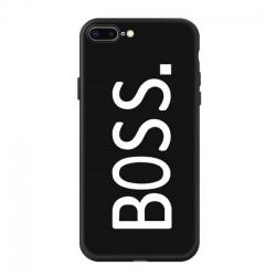 iPhone X / XS - hoes, cover, case - TPU - BOSS
