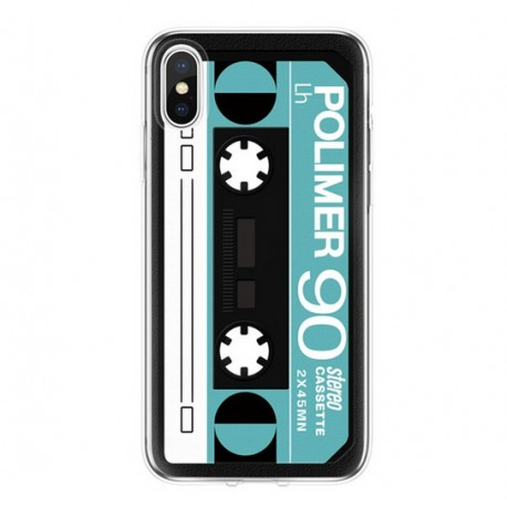 iPhone XS Max (6,5 inch) - hoes, cover, case - TPU - Cassette