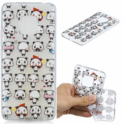 Huawei Mate 20 Pro - hoes, cover, case - TPU - Transparant - Panda