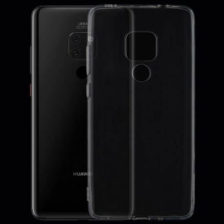 Huawei Mate 20 - hoes, cover, case - TPU - Transparant