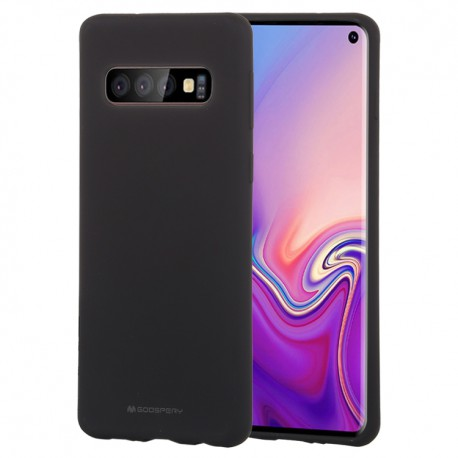 MERCURY - Samsung Galaxy S10 - hoes, cover, case - TPU - Zwart