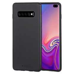 MERCURY - Samsung Galaxy S10 Plus - hoes, cover, case - TPU - Zwart