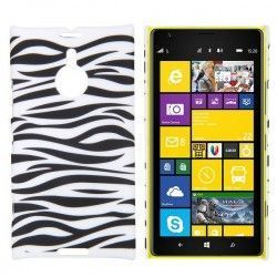 Nokia Lumia 1520 hard case, cover, hoes Zebra