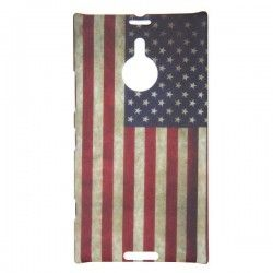 Nokia Lumia 1520 hard case, cover, hoes USA vlag