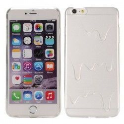 iPhone 6 Plus (5.5 inch) TPU ice cream butter transparante case cover hoes