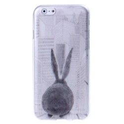 iPhone 6 Plus (5.5 inch) Rabbit TPU Cover, hoesje, case