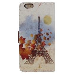 iPhone 6 Plus (5.5 inch) Flip Cover, hoesje, case Eifel tower
