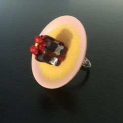 chocolate Miniature Ring