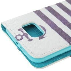 Samsung S6 Pu Leather Flip case, cover, hoes Anker