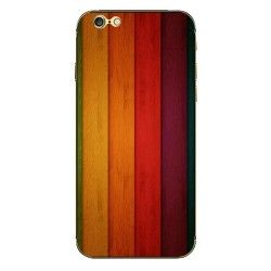 iPhone 6 (4.7 inch) Skin sticker Colorfull Wood Pattern