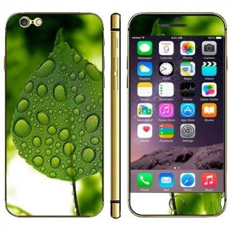 iPhone 6 (4.7 inch) Skin sticker leaves Pattern