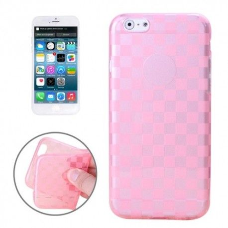 iPhone 6 (4.7 inch) TPU Cover, hoesje, case transparant roze